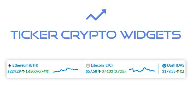 Premium Cryptocurrency Widgets | WordPress Crypto Plugin - 17