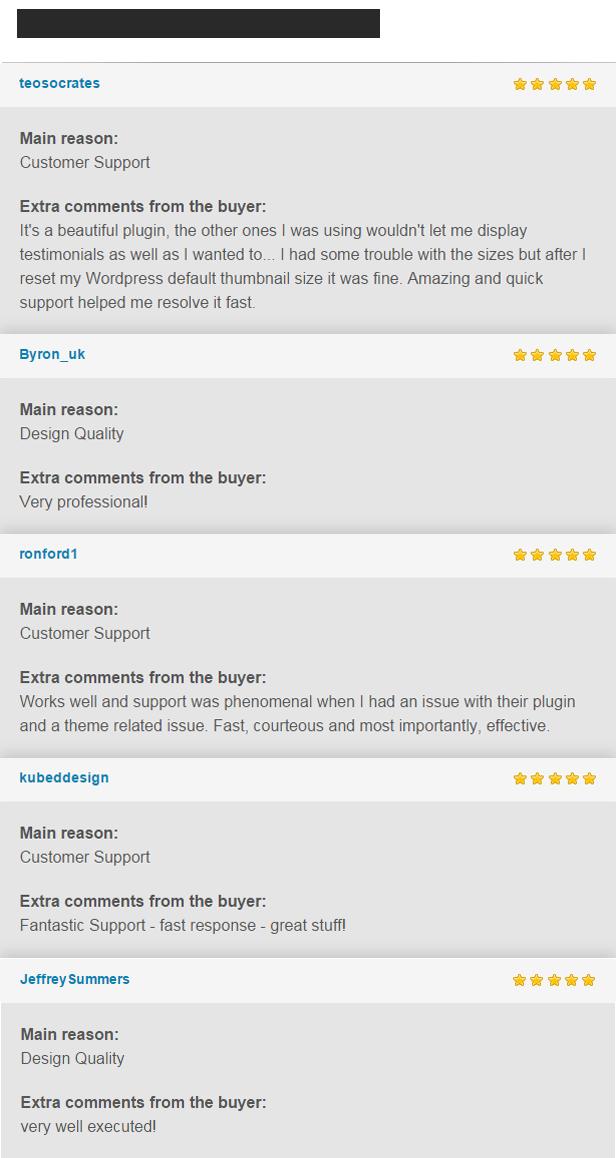 Testimonials Showcase WordPress Plugin - 12
