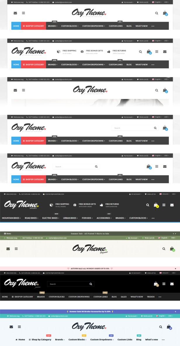 OXY - Multi-Purpose Responsive OpenCart 3 Theme - 15