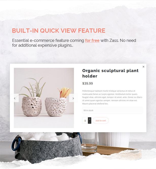 Zass - WooCommerce Theme for Handmade Artists and Artisans - 6