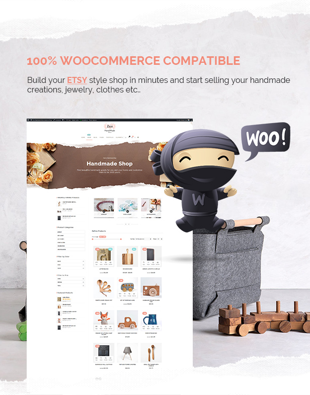 Zass - WooCommerce Theme for Handmade Artists and Artisans - 4
