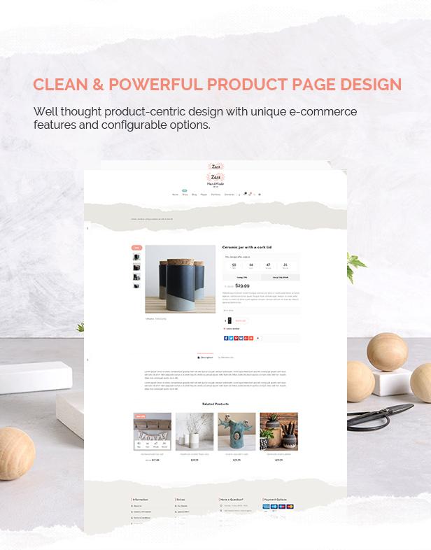 Zass - WooCommerce Theme for Handmade Artists and Artisans - 5