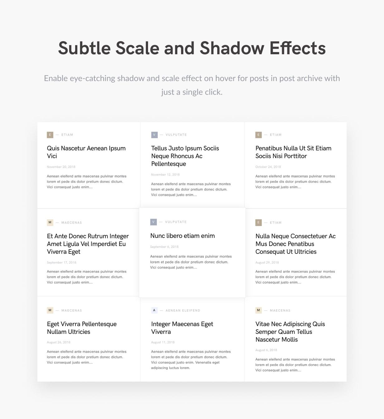 Squaretype - Modern Blog WordPress Theme - 5