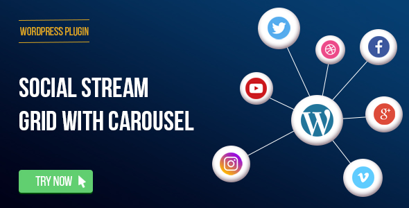 WPBakery Page Builder - Social Streams With Carousel (formerly Visual Composer) - 2
