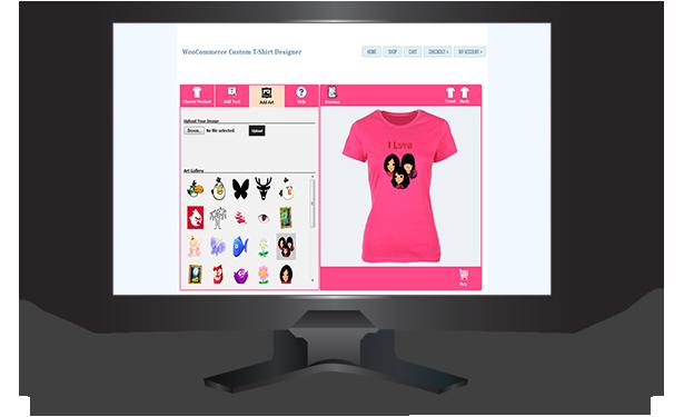 WooCommerce Custom T-Shirt Designer - 12