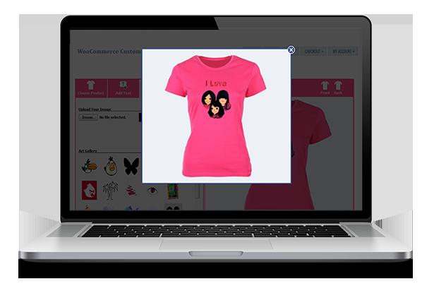 WooCommerce Custom T-Shirt Designer - 24