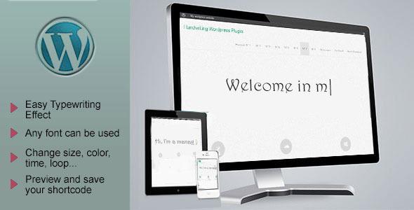 Advanced Typing Effect WordPress Plugin
