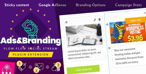 Advertisement & Branding Custom Content for Flow-Flow