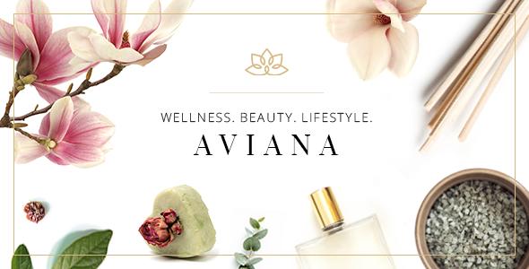 Aviana - Elegant Wellness & Spa Theme