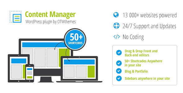 Content Manager for WordPress