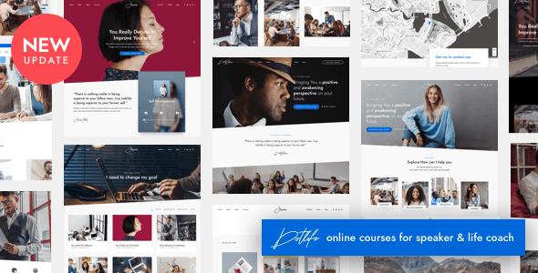 DotLife | Coach Online Courses WordPress