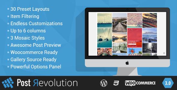 Post Revolution - Amazing Grid Builder for WP