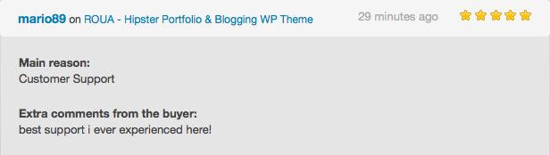 ROUA - Hipster Portfolio & Blogging WP Theme - 4