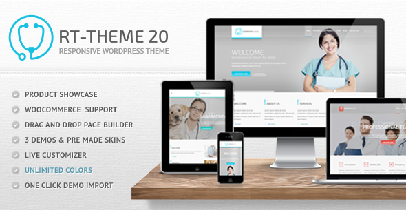 RT-Theme 20 | Medical, Health and Medical Product Catalog
