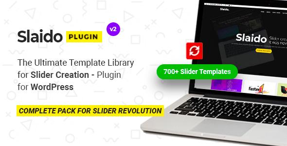 Slaido - Template Pack for Slider Revolution WordPress Plugin