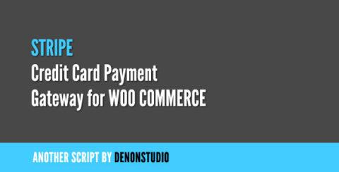 Stripe Credit Card Gateway for WooCommerce