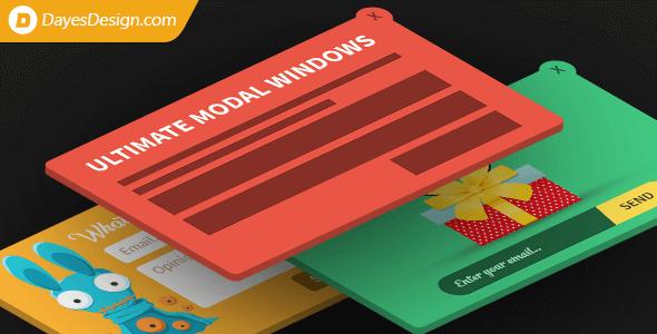 Ultimate Modal Windows