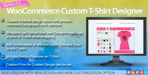WooCommerce Custom T-Shirt Designer
