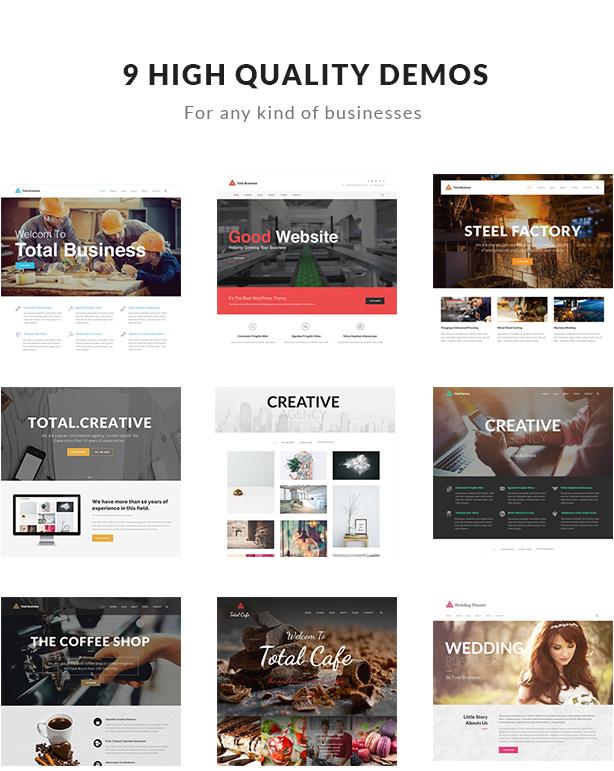 Total Business - Multi-Purpose WordPress - 2
