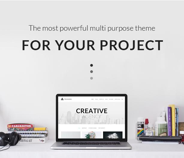 Total Business - Multi-Purpose WordPress - 1