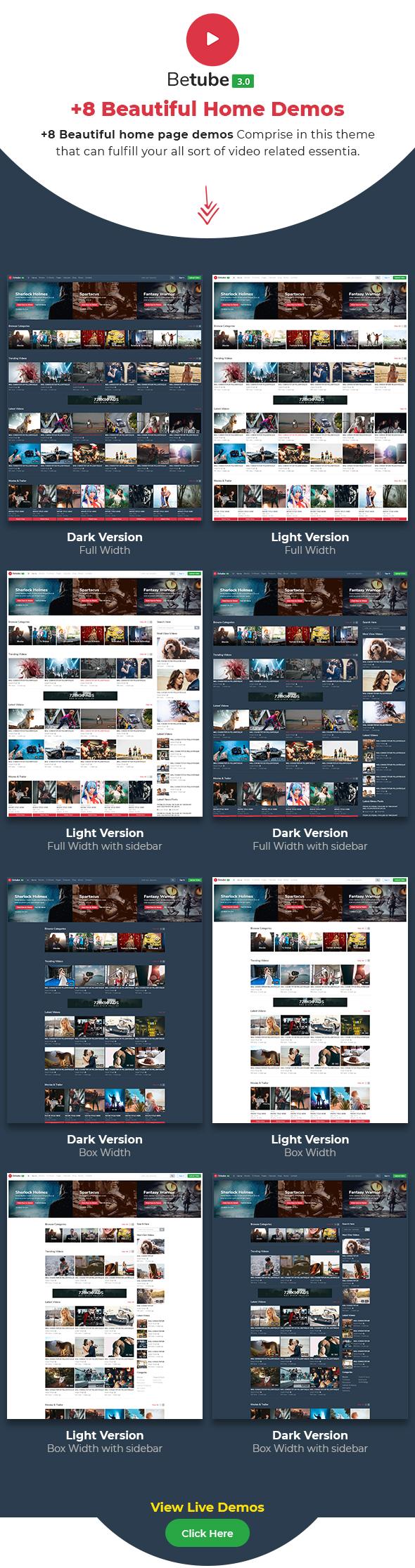 video WP theme