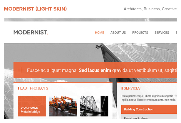Modernist - Architecture&Engineer WordPress Theme - 6