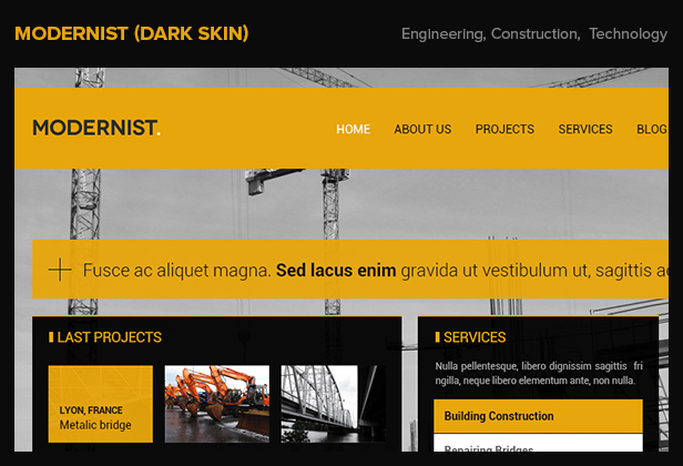 Modernist - Architecture&Engineer WordPress Theme - 7