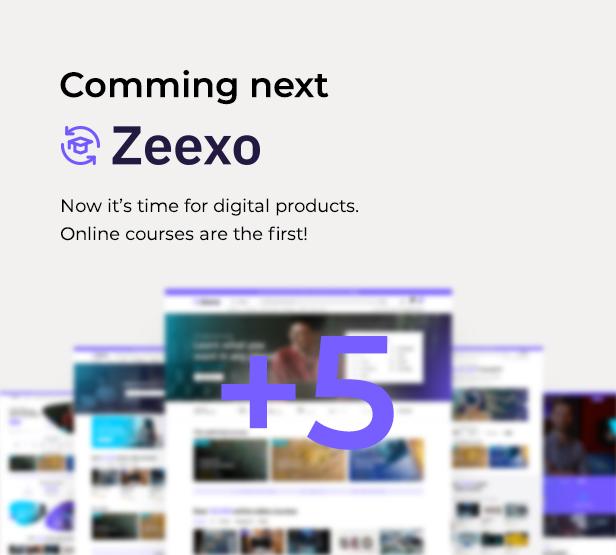 list zeexo shopify theme