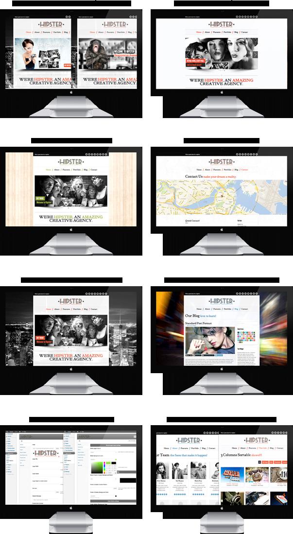 Hipster - Retro Responsive WordPress Theme - 5