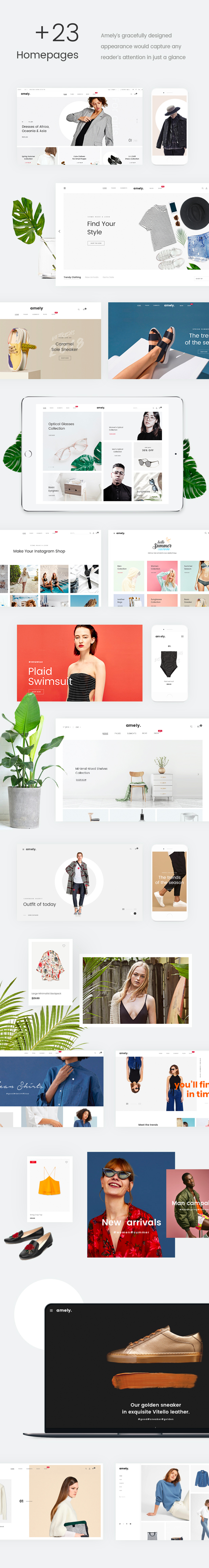 Fashion WooCommerce WordPress Theme - 18+ Homepages