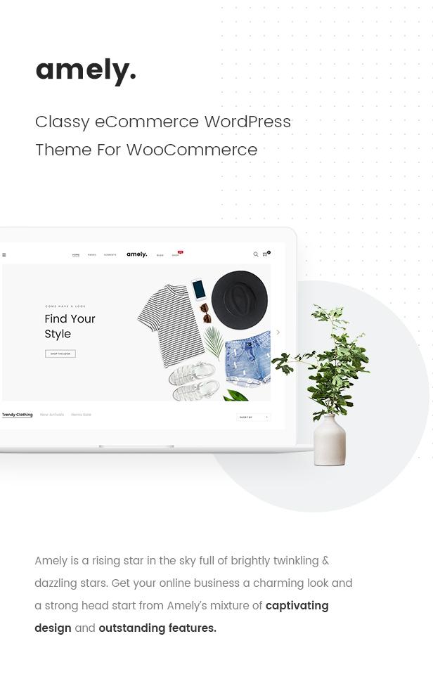 Fashion WooCommerce WordPress Theme - Classy eCommerce WordPress Theme