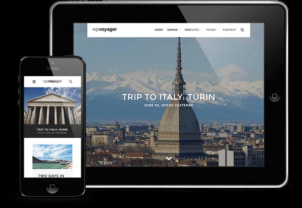 WPVoyager - Travel Blog WordPress Theme - 8