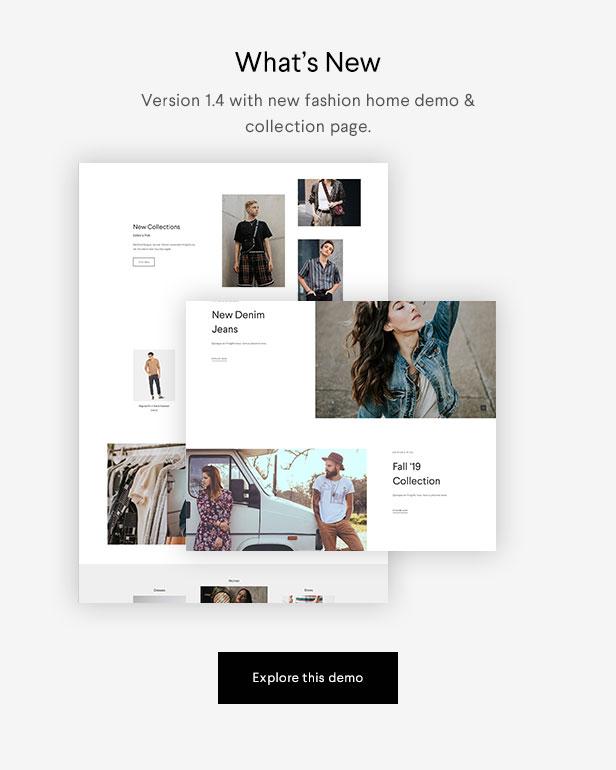 Halena   Minimal & Modern eCommerce WordPress Theme - 1
