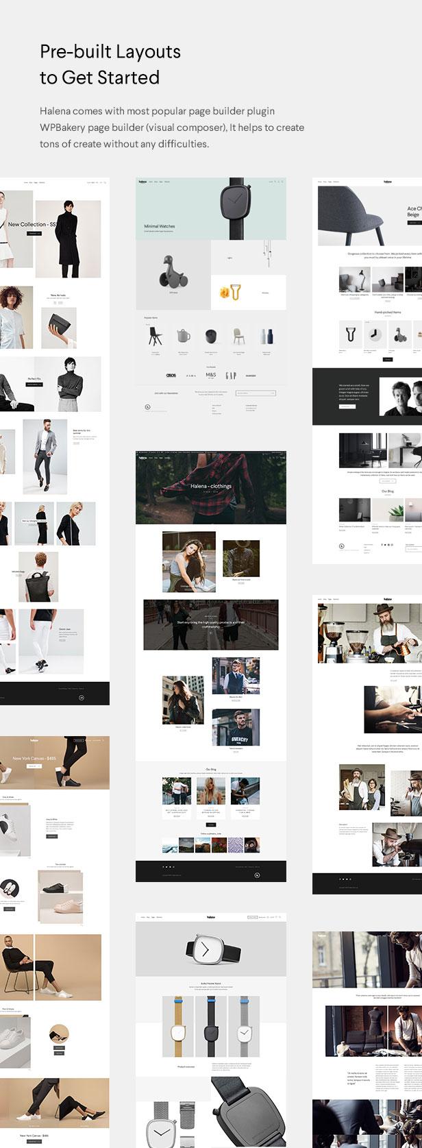 Halena   Minimal & Modern eCommerce WordPress Theme - 3