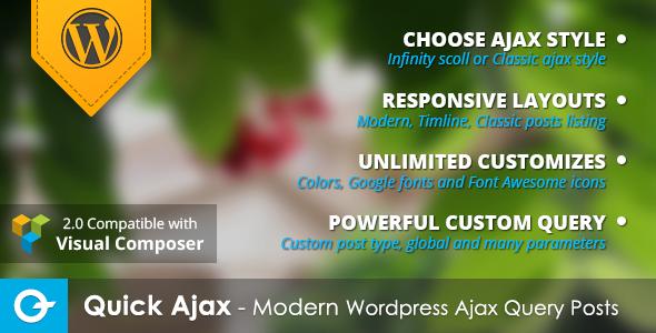 Wordpress Ajax Query Post