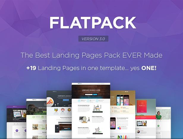 FLATPACK - Multipurpose Unbounce Pack - 6