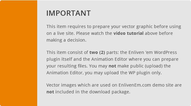 Enliven 'em! - SVG Animation Engine for WordPress - 9