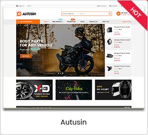 Autusin - Auto Parts & Car Accessories Shop WordPress WooCommerce Theme