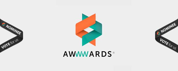 awwwards nominee