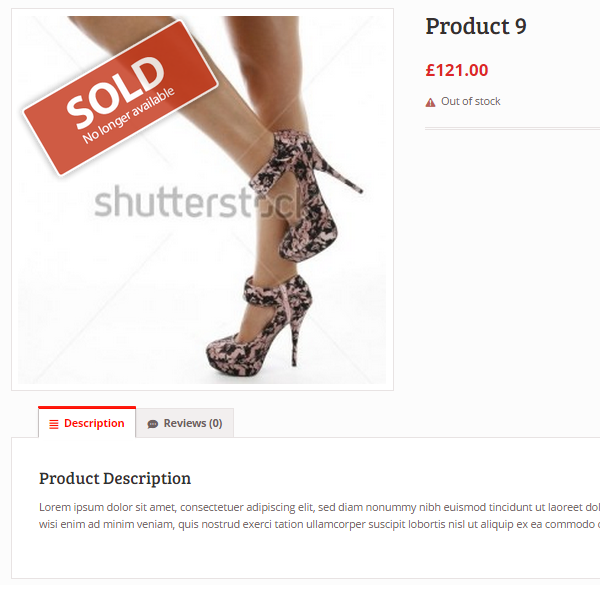 Woocommerce Sold Out Badge - 10