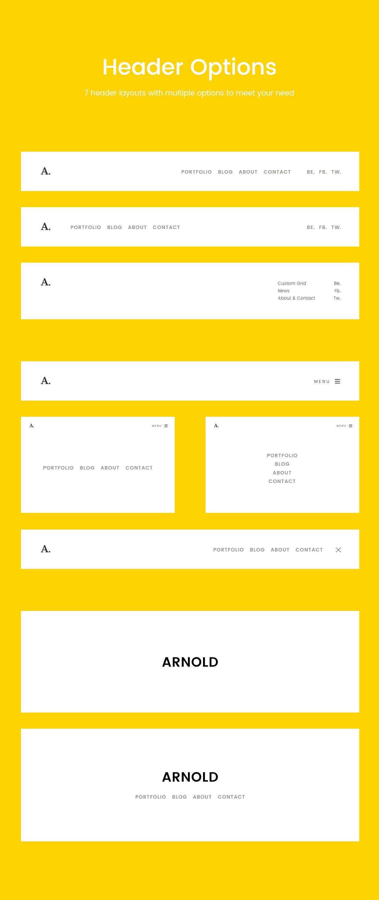 Arnold_WordPress_Theme_8_Header_layouts