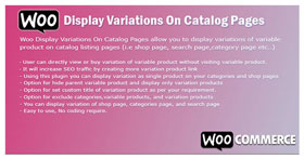 WooCommerce Display Variations On Catalog Pages