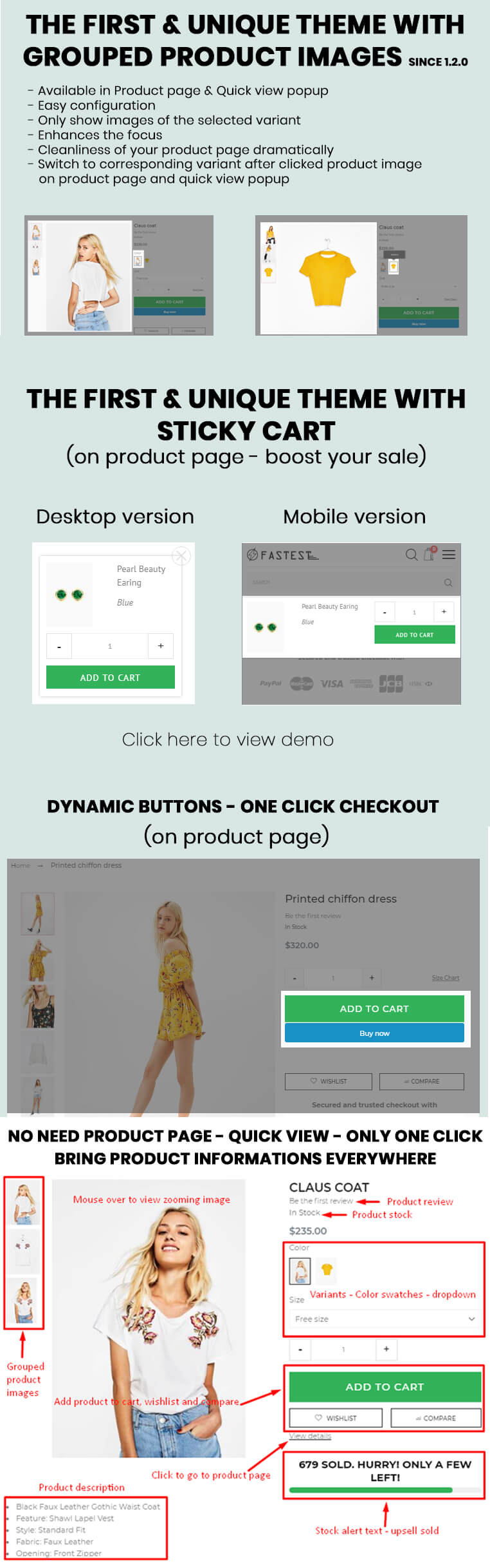 Fastest - Shopify themes smart responsive with 16 Unique Homepages - Welcome