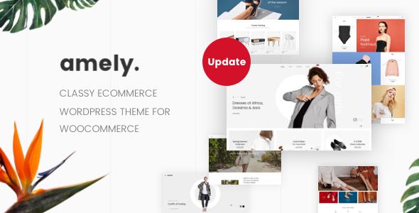 Amely - Fashion Shop WordPress Theme for WooCommerce