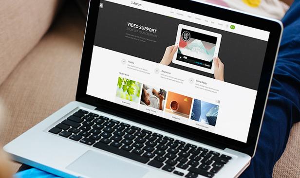 Astrum - Responsive Multi-Purpose WordPress Theme - 1