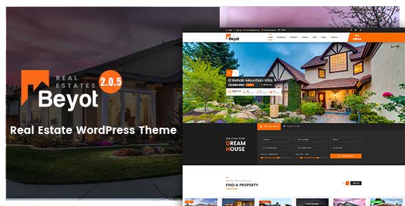 Beyot - WordPress Real Estate Theme