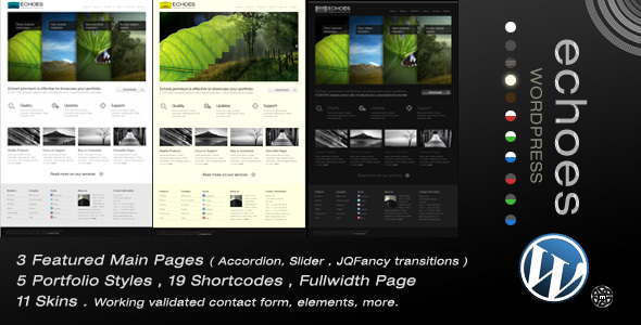 Echoes   Wordpress Theme