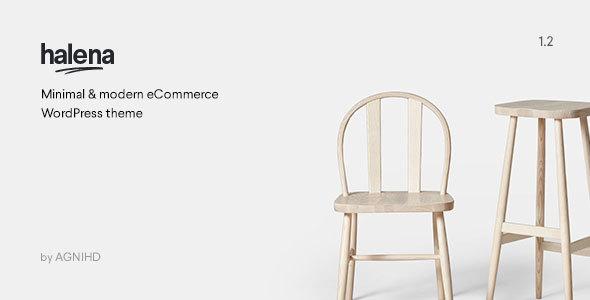 Halena   Minimal & Modern eCommerce WordPress Theme
