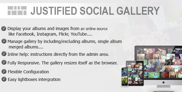 Justified Social Gallery