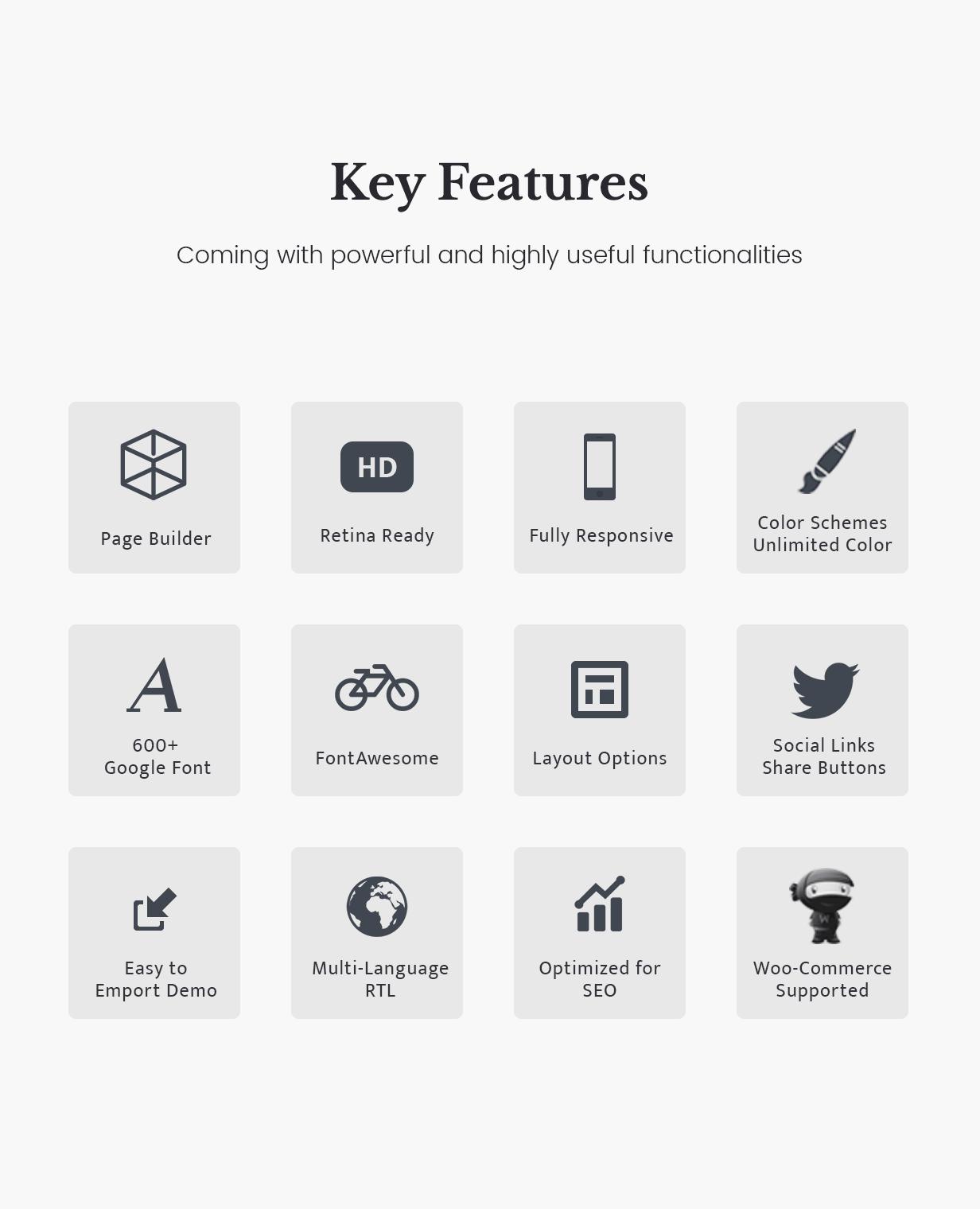 Arnold_WordPress_Theme_features